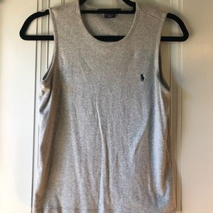 Small Grey Polo Ralph Lauren Tank
